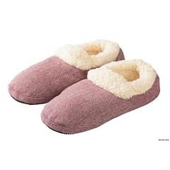 Warmies Slippies comfort maat 37-41 rood (1 paar)