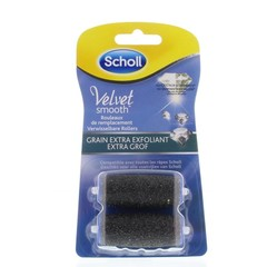 Scholl Velvet smooth refill grof diamond (2 stuks)