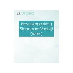 Dr Original Navulverpakking standaard voetvijl (roller) (1 stuks)