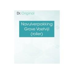 Dr Original Navulverpakking grove voetvijl (roller) (1 stuks)