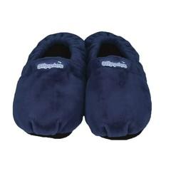 Warmies Slippies maat 8-11 (41 - 45) donker blauw (1 paar)