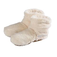 Warmies Slippies boots deluxe beige 37 - 42 (1 paar)