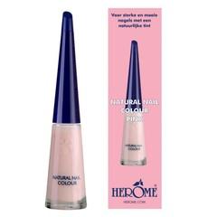 Herome Natural nail colour pink (10 ml)