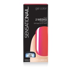 Sensationail Color gel tropical punch (7.39 ml)