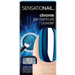 Sensationail Chrome powder blue (1.5 gram)