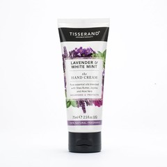 Tisserand Handcream lavender & white mint (75 ml)