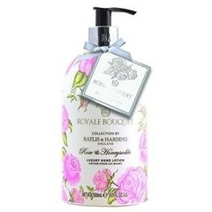 Baylis & Harding Royale bouquet handlotion rose & honeysuckle (500 ml)