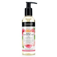Tisserand Hand wash rose geranium leaf (195 ml)