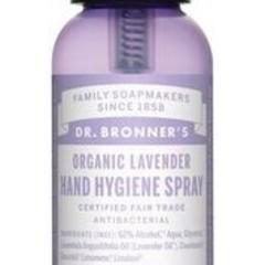 Dr Bronners Hand hygiene spray lavendel (60 ml)