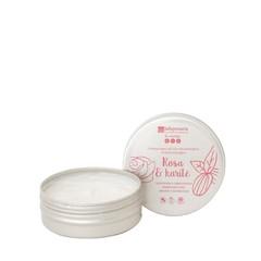 La Saponaria Handcreme bio roos & shea butter (60 ml)