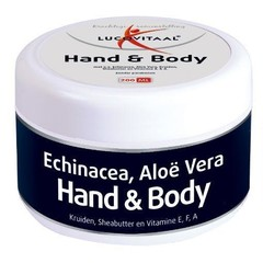 Lucovitaal Hand body creme (200 ml)