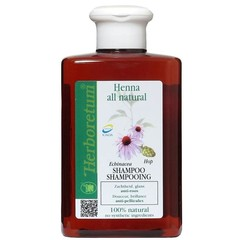 Herboretum Henna all natural shampoo anti roos (300 ml)