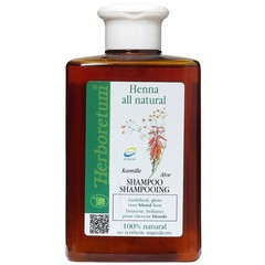 Herboretum Henna all natural shampoo blond (300 ml)