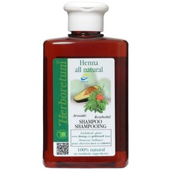 Herboretum Henna all natural shampoo droog/gekleurd haar (300 ml)