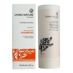 Living Nature Shampoo balancing (200 ml)