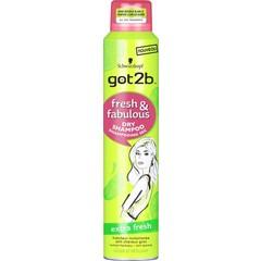 GOT2B Droogshampoo fresh & fabulous extra fresh (200 ml)