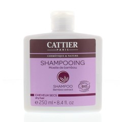 Cattier Shampoo droog haar bamboe (250 ml)