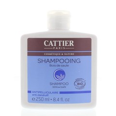 Cattier Shampoo anti-roos wilgenbast (250 ml)