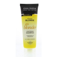 John Frieda Sheer blonde shampoo go blonder (250 ml)