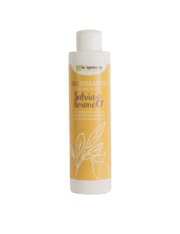 La Saponaria La Saponaria Shampoo bio salie & citroen (200 ml)