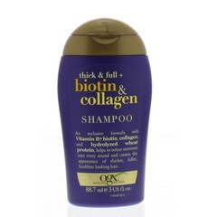 OGX Shampoo thick and full collagen (89 ml)