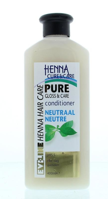 Henna Cure & Care Henna Cure & Care Conditioner pure no parabens neutraal (400 ml)