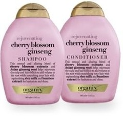 OGX Rejuvenating cherry blossom ginseng conditioner (385 ml)