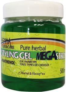 Henna Cure & Care Henna Cure & Care Haargel mega strong (500 ml)