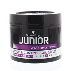 Junior Power Junior style & control gel level 4 (150 ml)