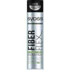 Syoss Fiber Flex Flexibele Hold 4 extra strong haarspray (400 ml)