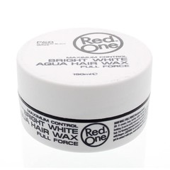 Red One Haarwax aqua bright white (150 ml)