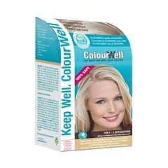 Colourwell 100% Natuurlijke haarkleur licht natuur blond (100 gram)
