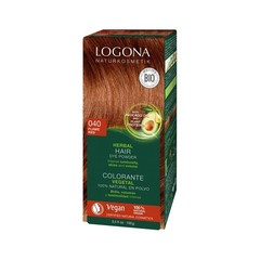 Logona Haarkleuring 040 koperrood (100 gram)