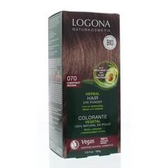 Logona Haarkleuring 070 kastanjebruin (100 gram)