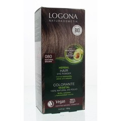 Logona Haarkleuring 080 natuurbruin (100 gram)