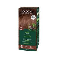 Logona Haarkleuring 091 choco bruin (100 gram)