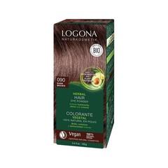 Logona Haarkleuring 090 donkerbruin (100 gram)