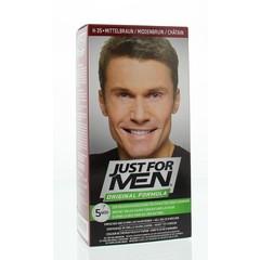 Just For Men Midden bruin H35 voorheen donker blond 2 x 30 ml (1 set)