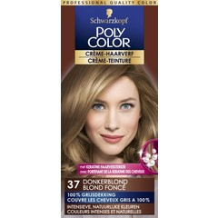 Poly Color Creme haarverf 37 donkerblond (90 ml)