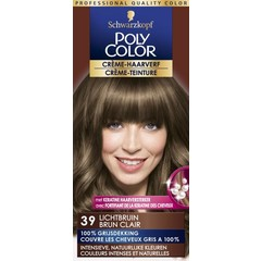 Poly Color Creme haarverf 39 lichtbruin (90 ml)