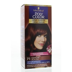 Poly Color Creme haarverf 71 mahonie (90 ml)