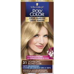 Poly Color Creme haarverf 31 lichtblond (90 ml)