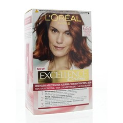 Loreal Excellence 6.54 donker mahonie koperblond (1 set)