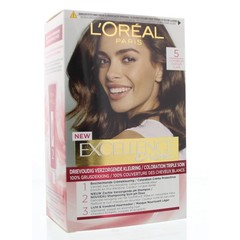 Loreal Excellence 5 lichtbruin (1 set)