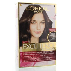 Loreal Excellence 3 donkerbruin (1 set)