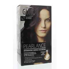Guhl Pearlance intensieve cremekleur 47 cacaobruin (1 set)