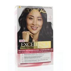 Loreal Excellence 1 Zwart (1 set)
