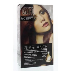 Guhl Pearlance intensieve cremekleur 63 koper mahonie (1 set)