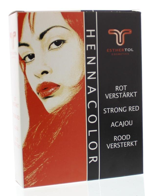 Tol Cosmetik Tol Cosmetik Hennapoeder acajourood versterkt (85 gram)