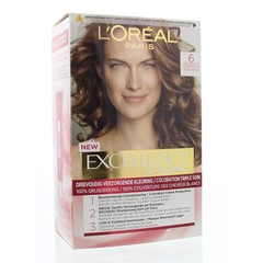 Loreal Excellence 6 donkerblond (1 set)